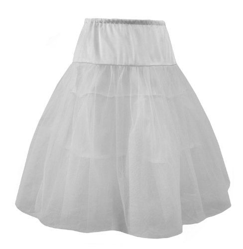 White - Organza Net And Satin Rockabilly, Burlesque Petticoat / Underskirt. Size 10-16 White DangerousFX http://www.amazon.com/dp/B0044YY0WC/ref=cm_sw_r_pi_dp_7xh0wb00XMEY7