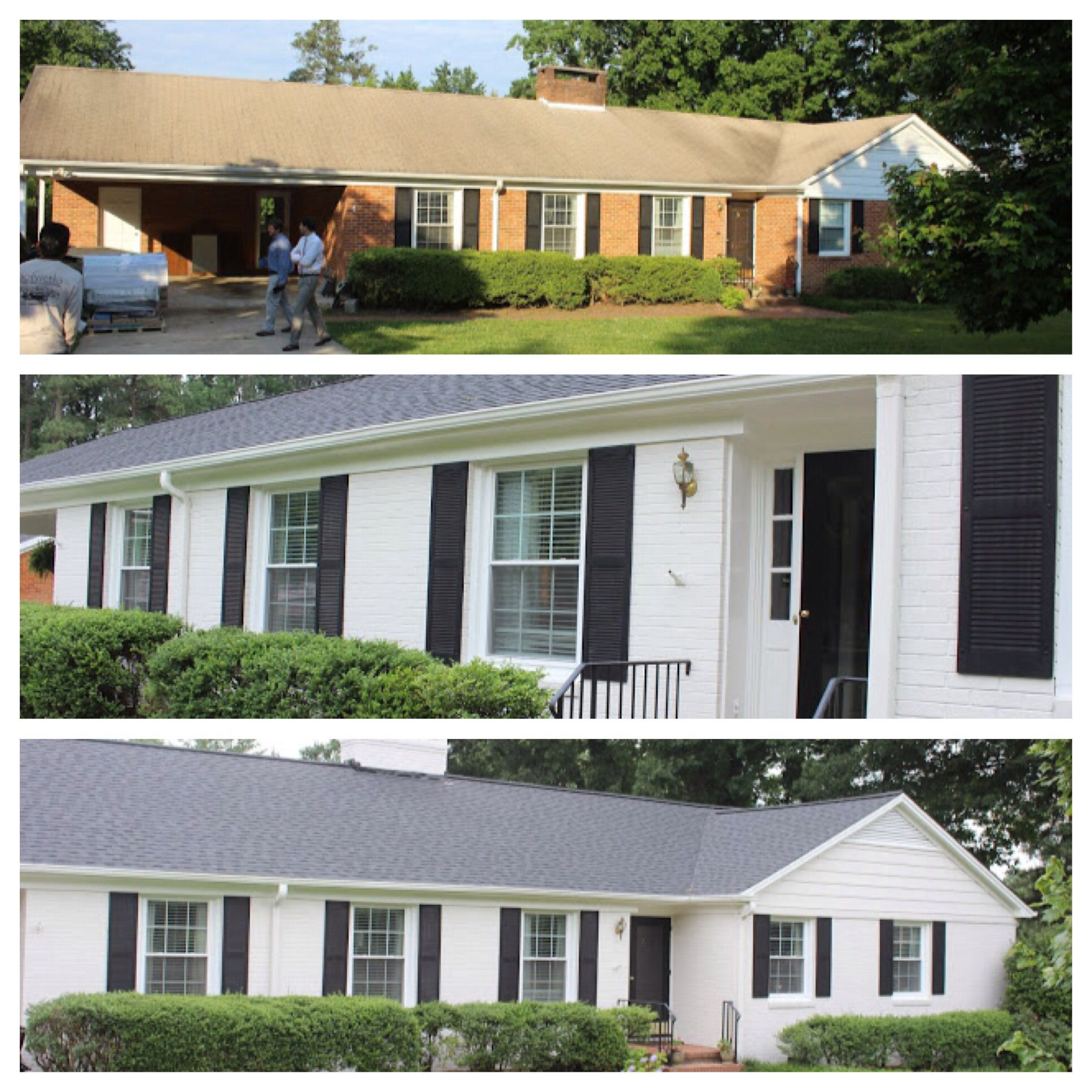 Ranch House Curb Appeal 8 Small Homes Get Huge Facelifts Ranch Exterior And Curb Appeal