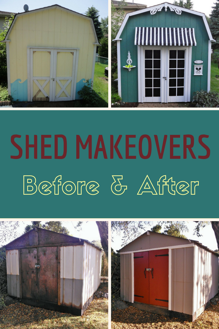 Before & After: Simple Upgrades Wake Up 5 Tired Sheds in 2018 | Lawn ...