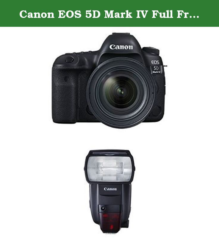 Canon EOS 5D Mark IV Full Frame Digital SLR Camera with EF 24-70mm f ...