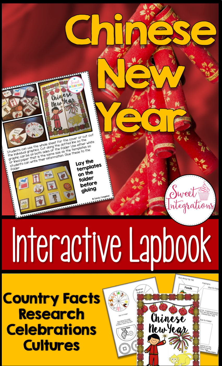 chinese new year updated 2018 interactive lapbook your students can learn about other cultures as they create a chinese new year interactive lapbook