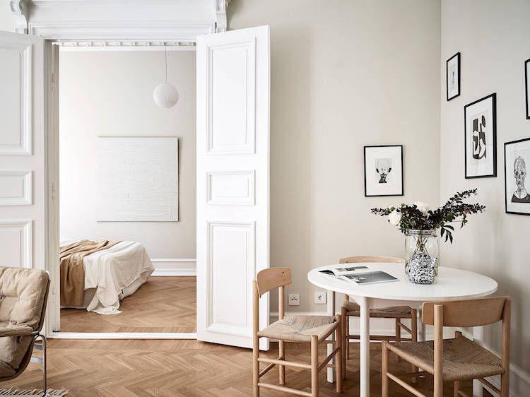Scandinavisch Appartement Inspiratie : Interior crush scandinavisch appartement in neutrale kleuren in