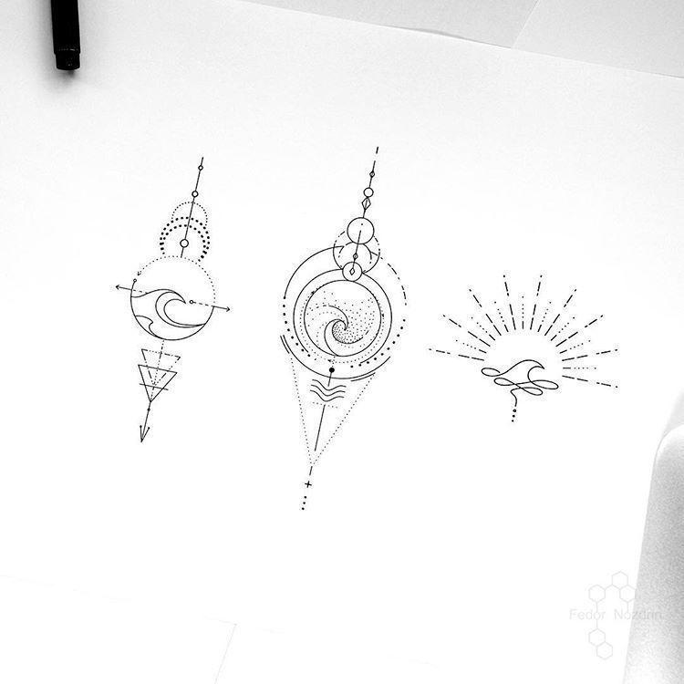 Geometrische tatoeages 707768897675088717