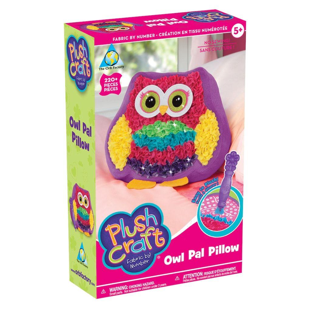 Plush Craft Owl Pal Pillow Plush Craft Easy Crafts For Kids