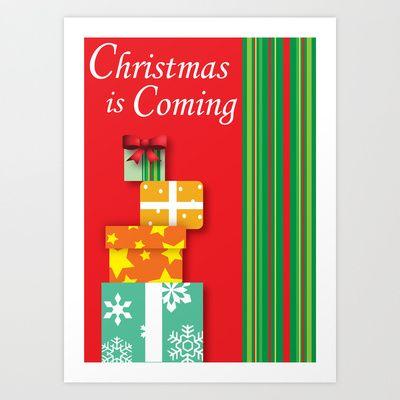 Christmas Card Art Print by Jada McGill - $1768 Christmas Stuff