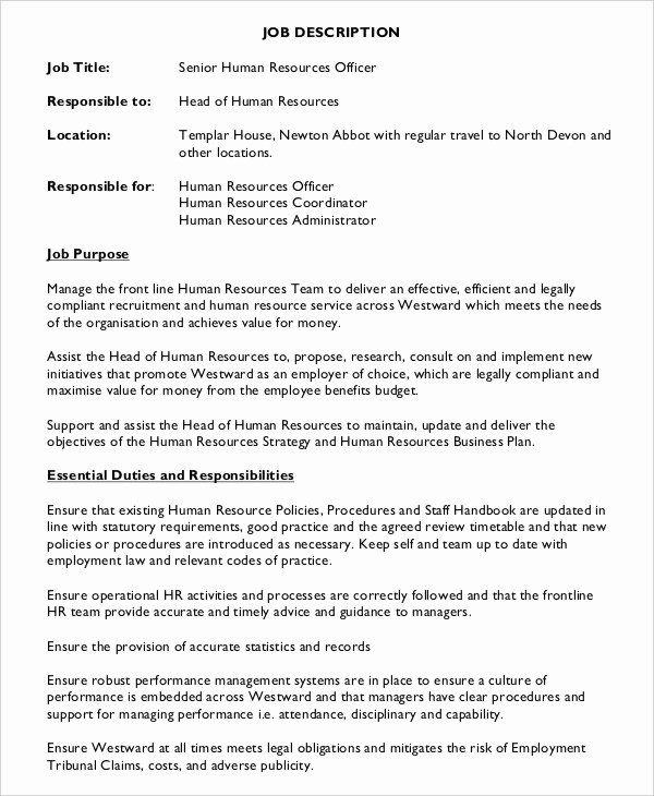 Hr Assistant Job Description Resume Lovely Hr Assistant Job Description 10 Free Word Pdf Documents Download Assistant Jobs Job Description Human Resources Jobs