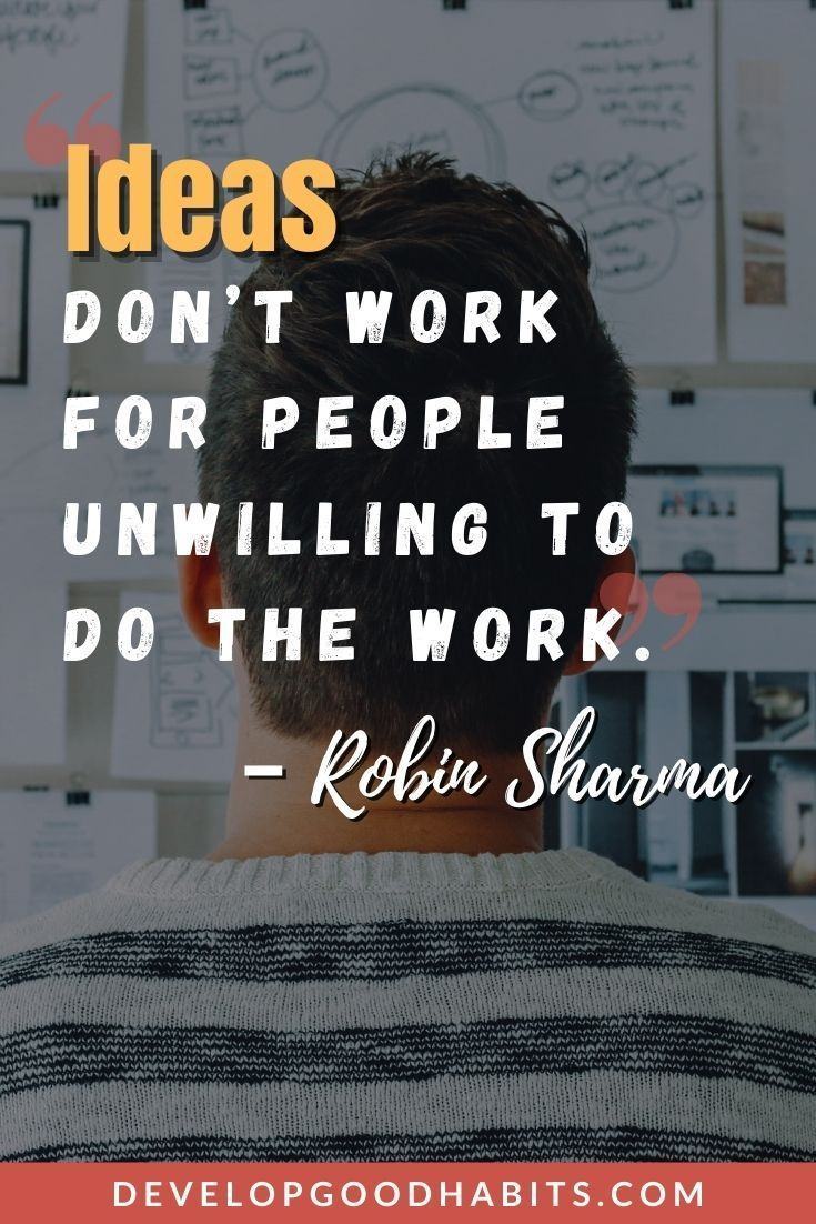 Quotes to Prove A Work Ethic Needed  for Success