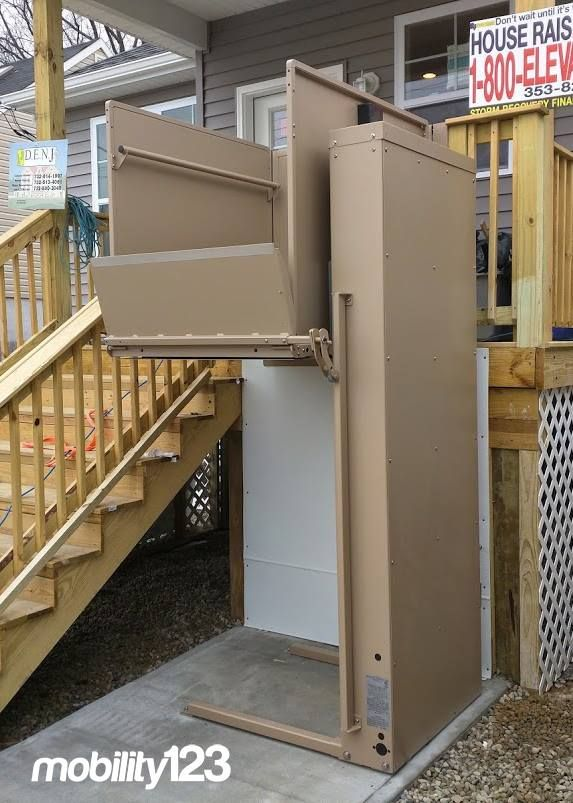 Bruno Wheelchair Lift Vpl By Mobility123