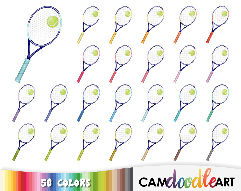 50 Tennis Cliparttennis Racket Cliparttennis Ball Clipart Etsy Clip Art Planner Etsy