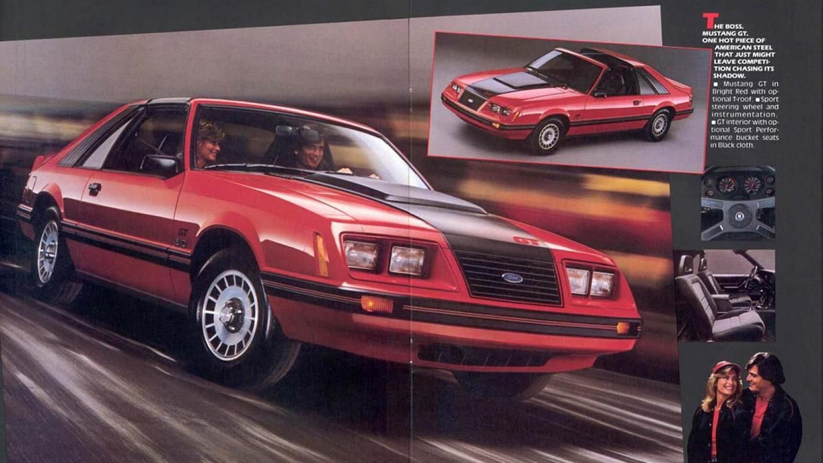 Recently A 1984 Ford Mustang Gt Turbo Was Found In A Junk Yard In California Http Autoweek Com Article Junkyard Treasures Mustang Gt Mustang Ford Mustang