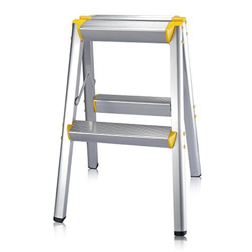 Neewer 20 52cm Aluminum Alloy Folding Portable Platform Two Step Ladder Stool With Non Slip Gripped Treads For Photogra Step Ladders Household Aluminium Alloy