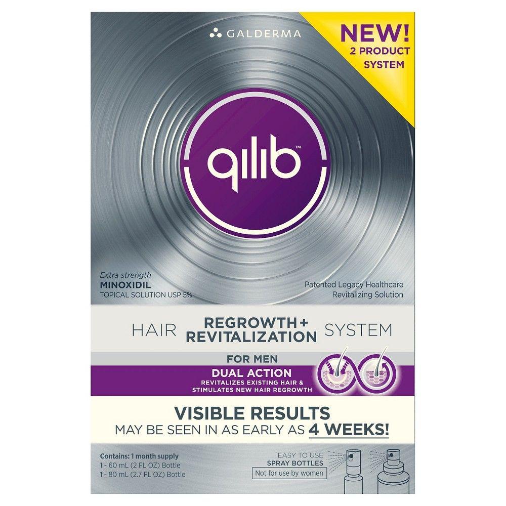 qilib Men's Hair Regrowth and Revitalizing System