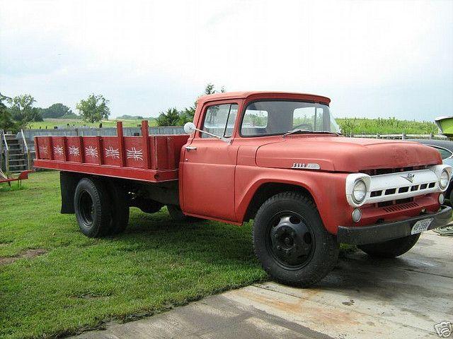 1959 Ford Farm Truck Farm Trucks Trucks Ford Tractors