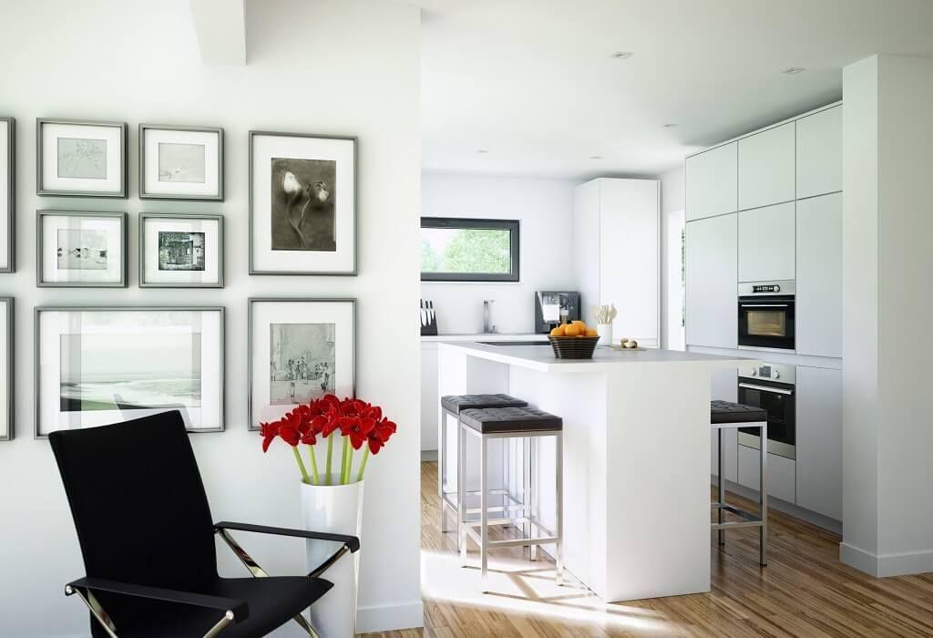 Offene Küche - Inneneinrichtung Haus Celebration 137 V3 Bien Zenker - kuche wohnzimmer offen modern