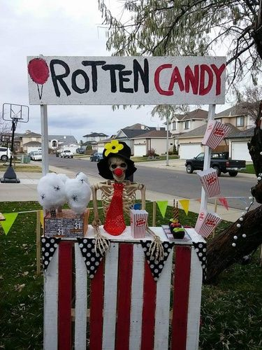 Carnevil Rotten Candy Vendor By Halloween Forum Member