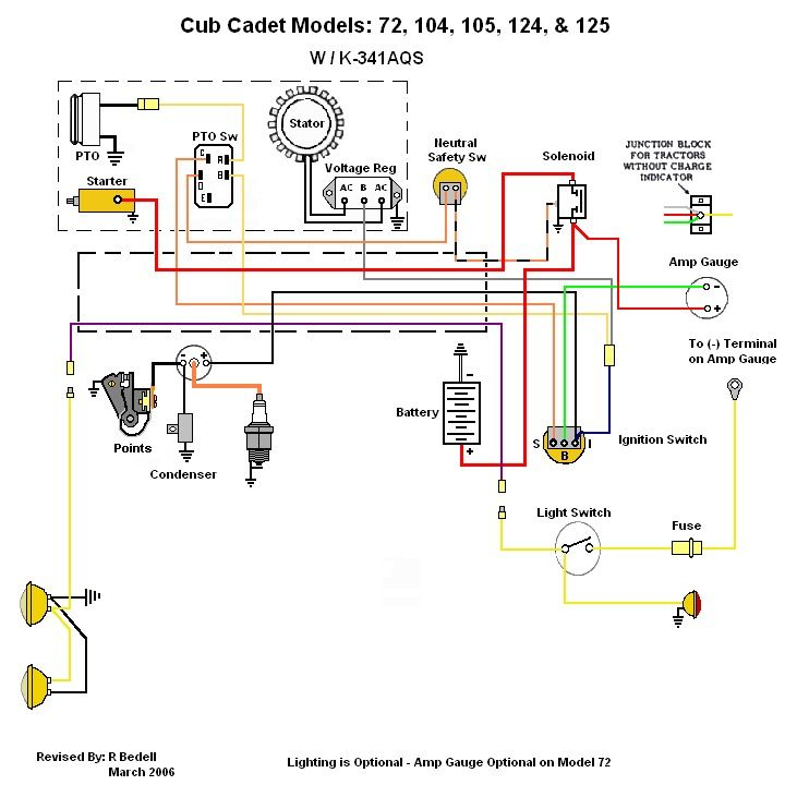 pin on 124 cub cadet international cub cadet wiring diagram for amp with no gauge  pinterest