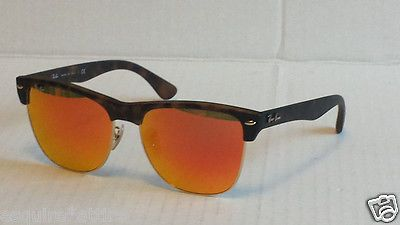 Ray-Ban  wayfarer style sunglasses RB4175 mirrored lens made in Italy (with  case 665f6ef217