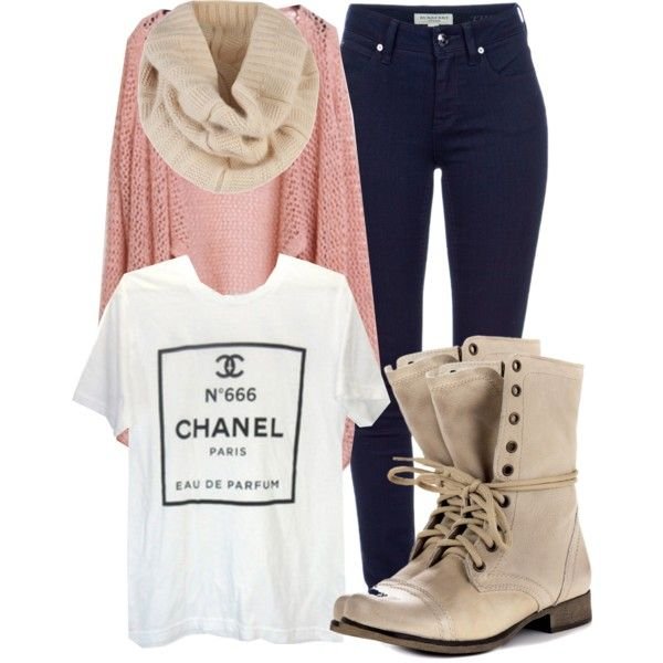 Chanel darling. by cheerstostyle on Polyvore featuring Chanel, Burberry, Steve  Madden and Ted