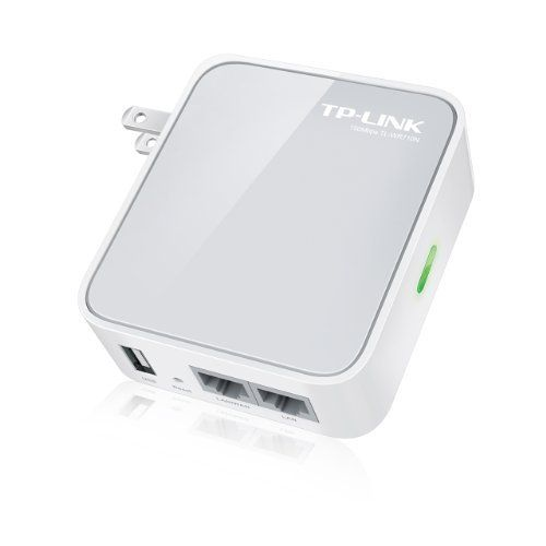 Tp Link Tl Wr710n 150mbps Wireless N Mini Pocket Router Repeater Client 2 Lan Ports Usb Port For Charging And Storage 845973070588 Tp Link Wireless Router