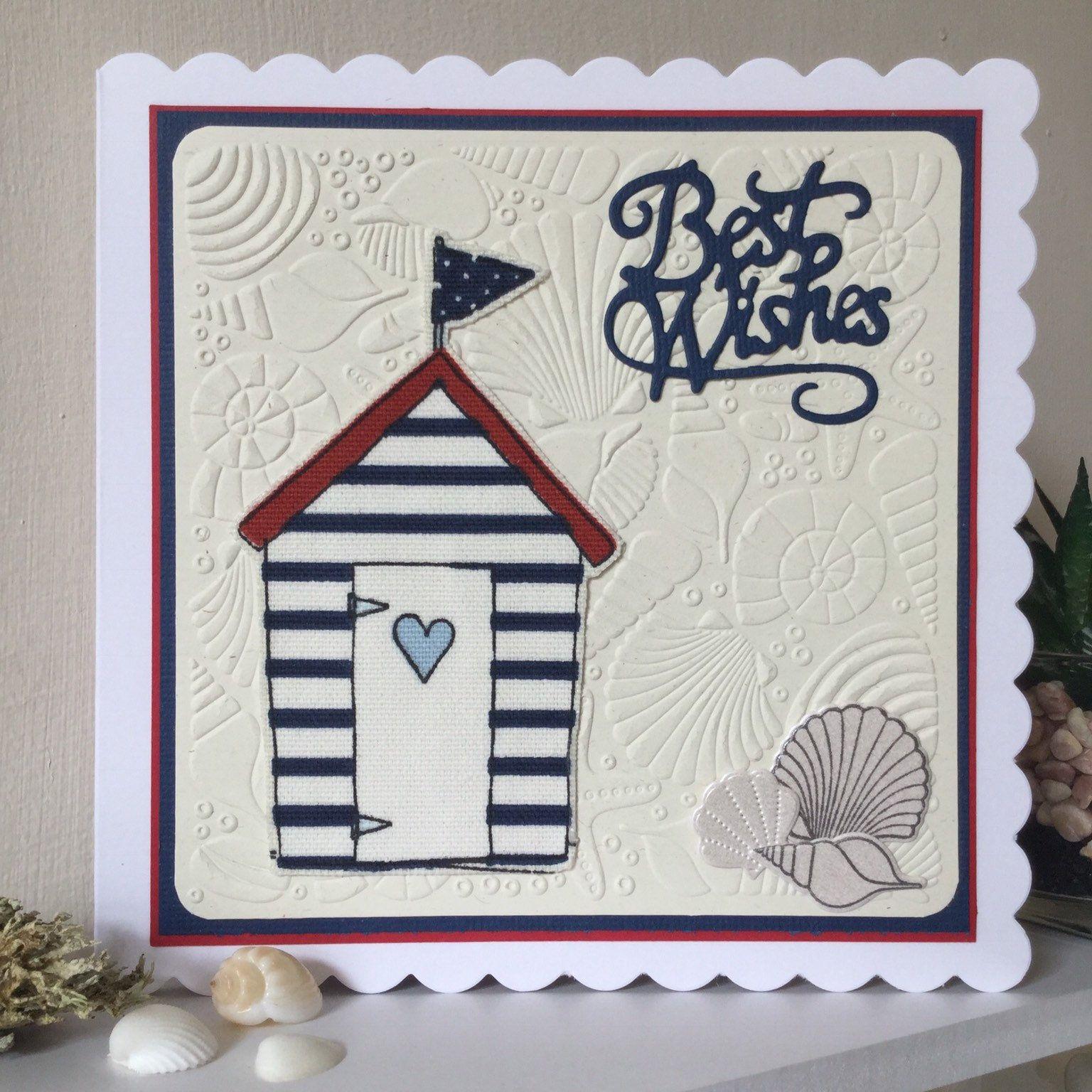 Seaside Birthday Handmade Card Seaside birthday, Cards