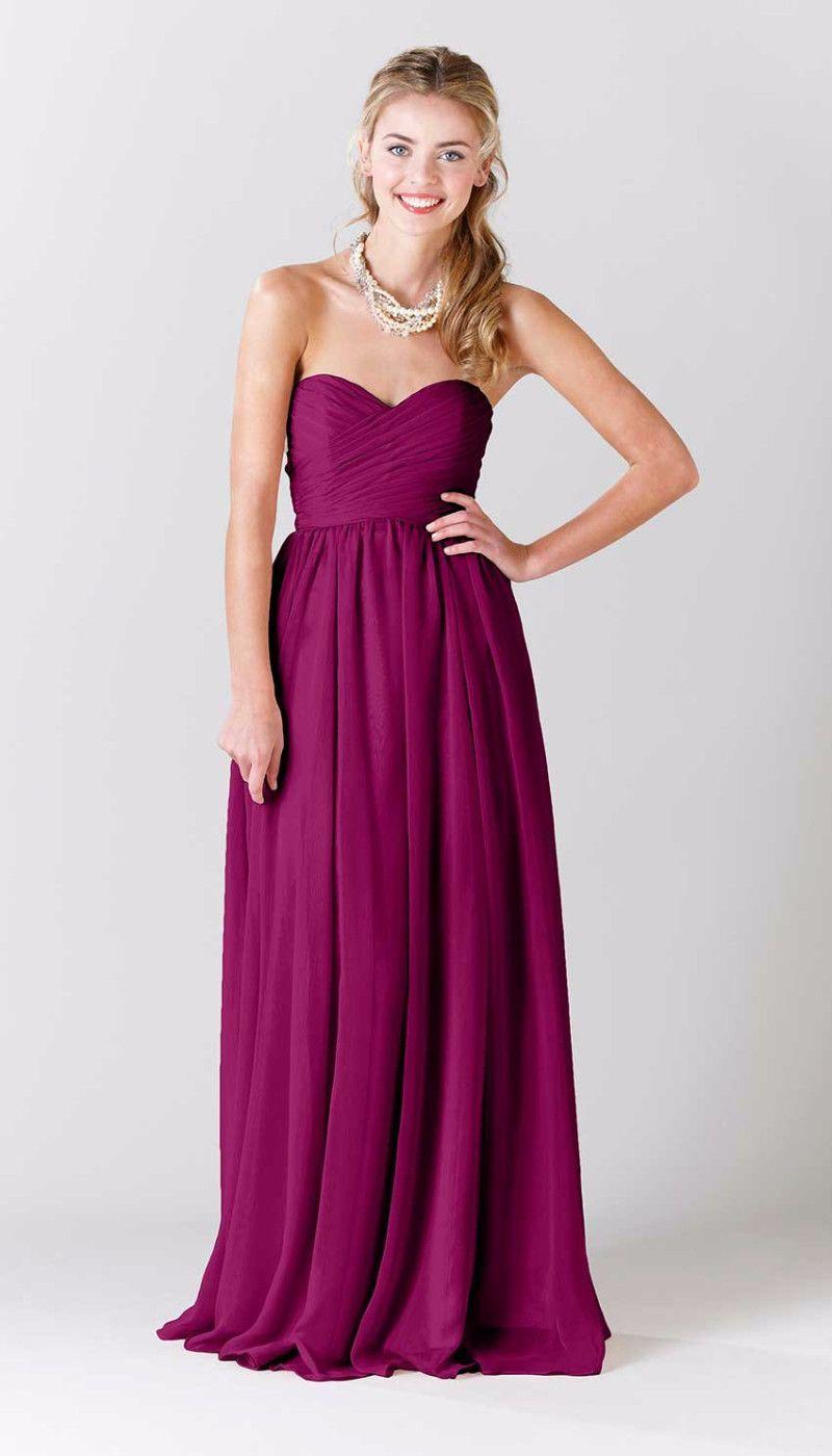 fuschia bridesmaid dresses - Google Search … | Pinteres…