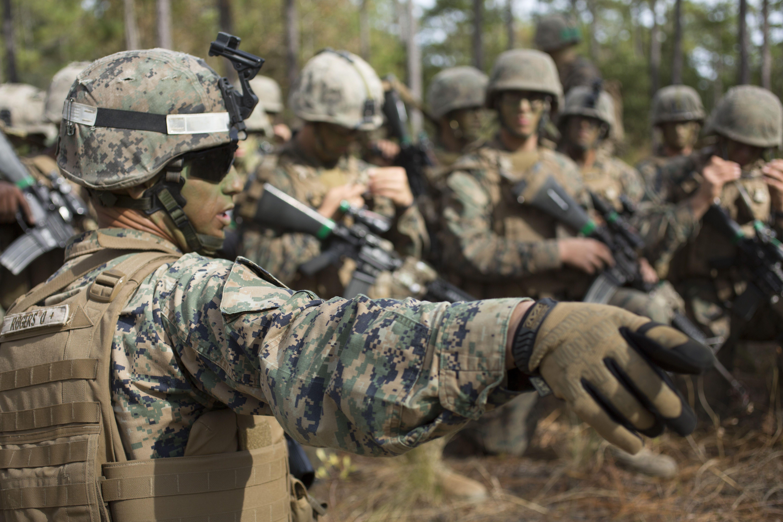 Marine Sergeant David Rogers Delta Company Infantry