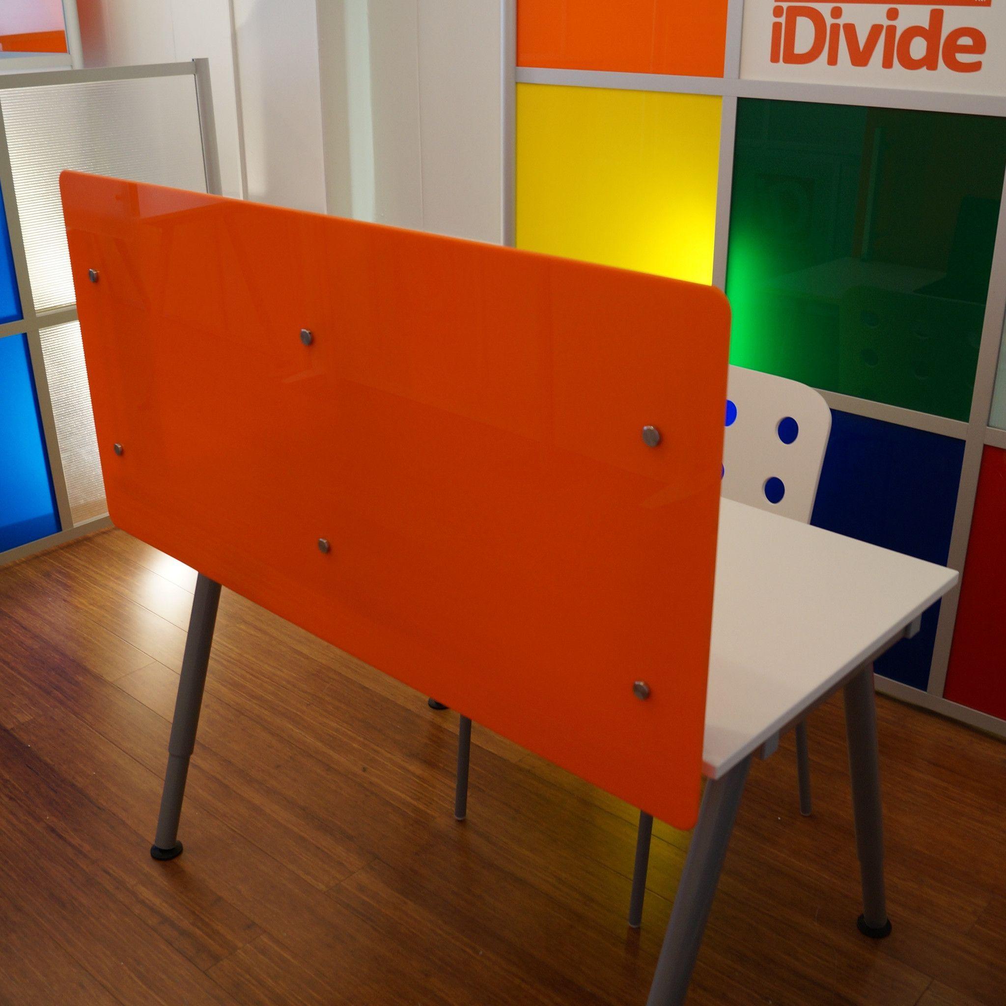 Desk Divider 47 Wide X 23 High Desktop Divider Privacy