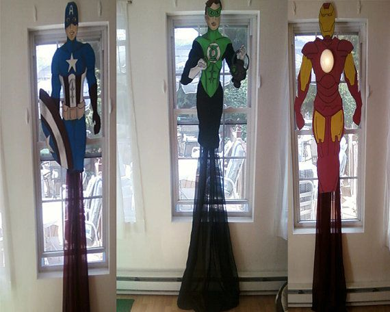 Superheros United Bedroom Curtain Window Treatments By Cancreate 150 00