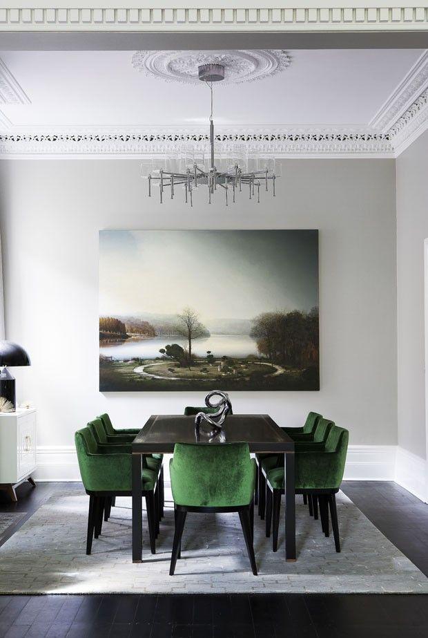Casa de 150 anos renasce luxuosa e contemporânea Interiors, Dinner