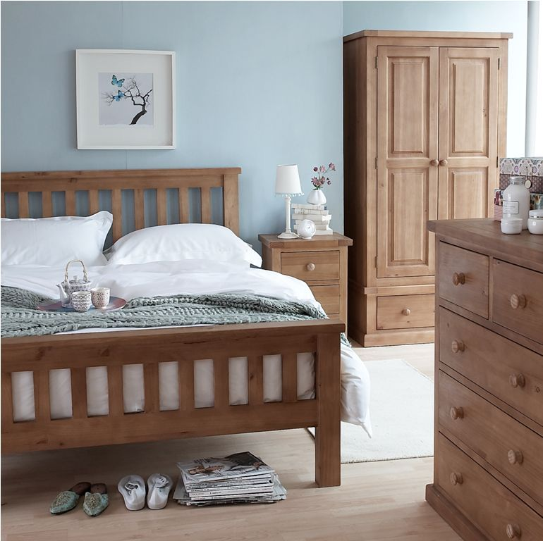 COUNTRY PINE BEDROOM FURNITURE   apartment in 2019   Pine ...