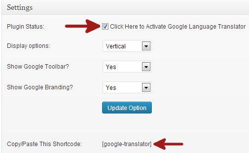 How To Add Google Translate In Wordpress Wordpress Ads Social