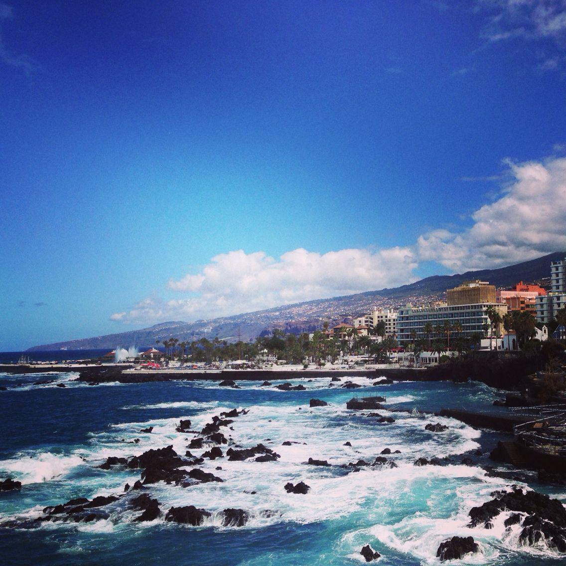 Puerto De La Cruz Tenerife Norte Travel Outdoor River