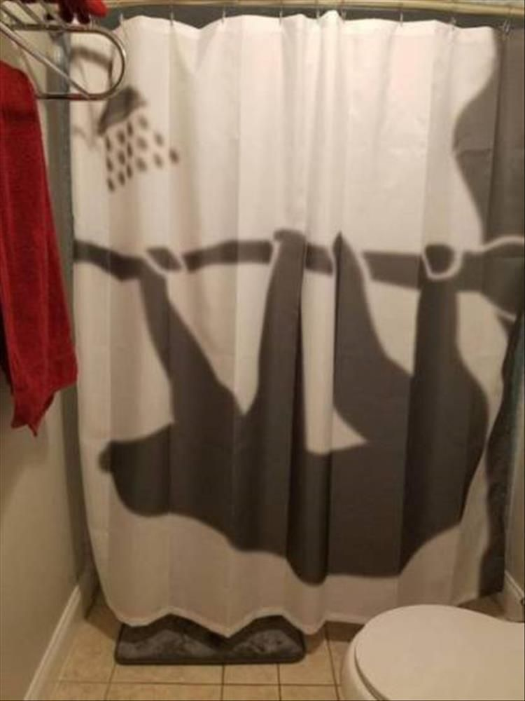 The Coolest Shower Curtains Youll See All Day 22 Pics Funny