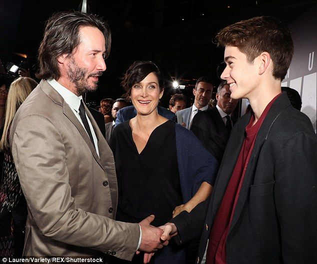 The stars of The Matrix trilogy reunited in Hollywood on ...