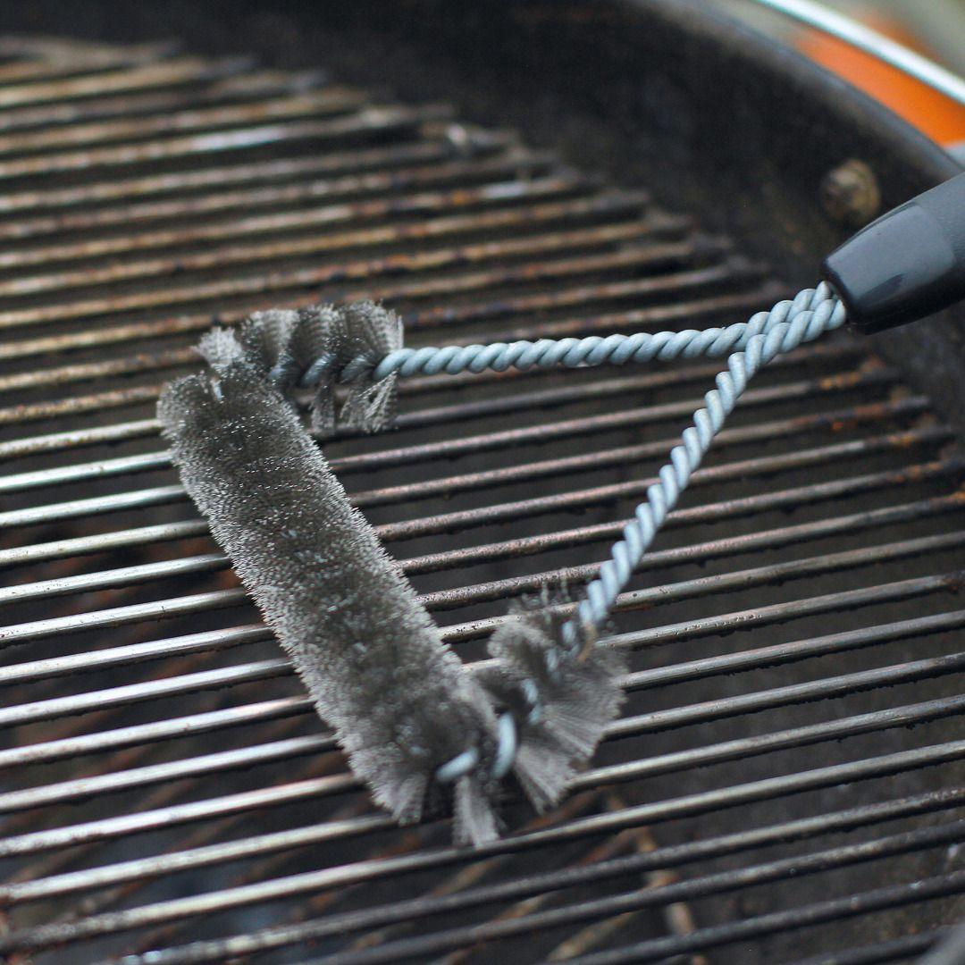 Wolfcraft 2750000 Brosse pour grilles de barbecue
