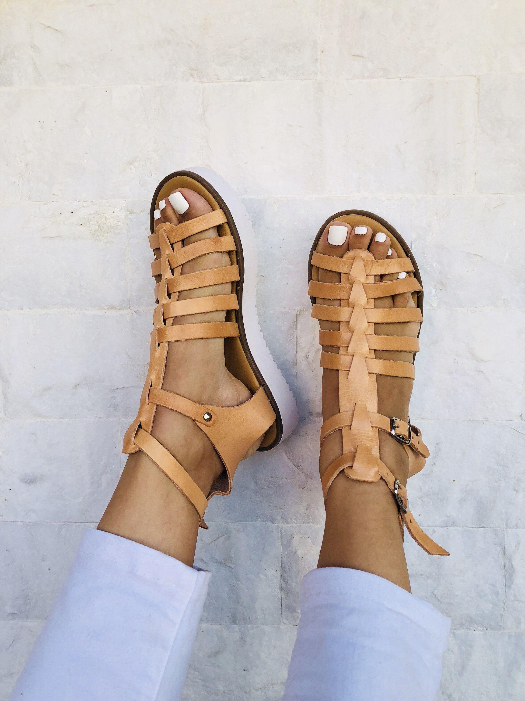 693551179a742 Greek Gladiator Sandals, Leather Sandals, Women Sandals, Summer ...