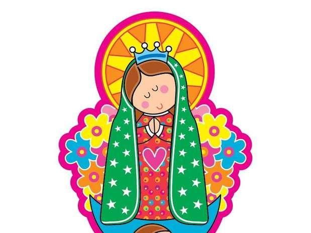 Virgencita Buscar Con Google Kids Art Class Art Lessons For Kids Catholic Crafts