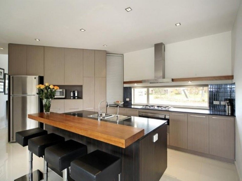 Modern Kitchen Island Design ideas magnificent modern kitchen island designs of chrome backless