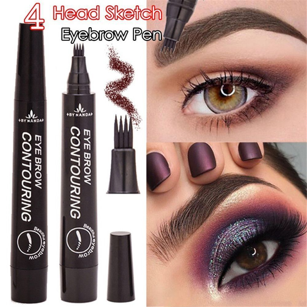Details about Microblading Eyebrow Tattoo Pen Waterproof