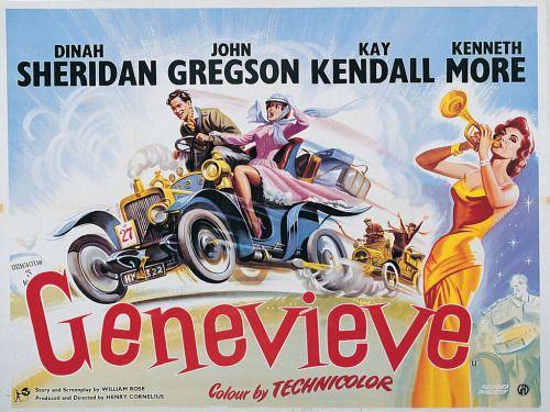 UK quad for GENEVIEVE (Henry Cornelius UK 1953)Artist:... Movie ...