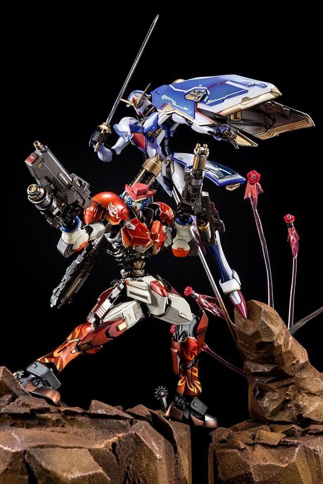 Custom Build 1 100 Gundam Maxter And Rose Gundam Roses Magnum Hurricane Gundam Kits Collection News And Reviews Gundam Gundam Model Gundam Custom Build
