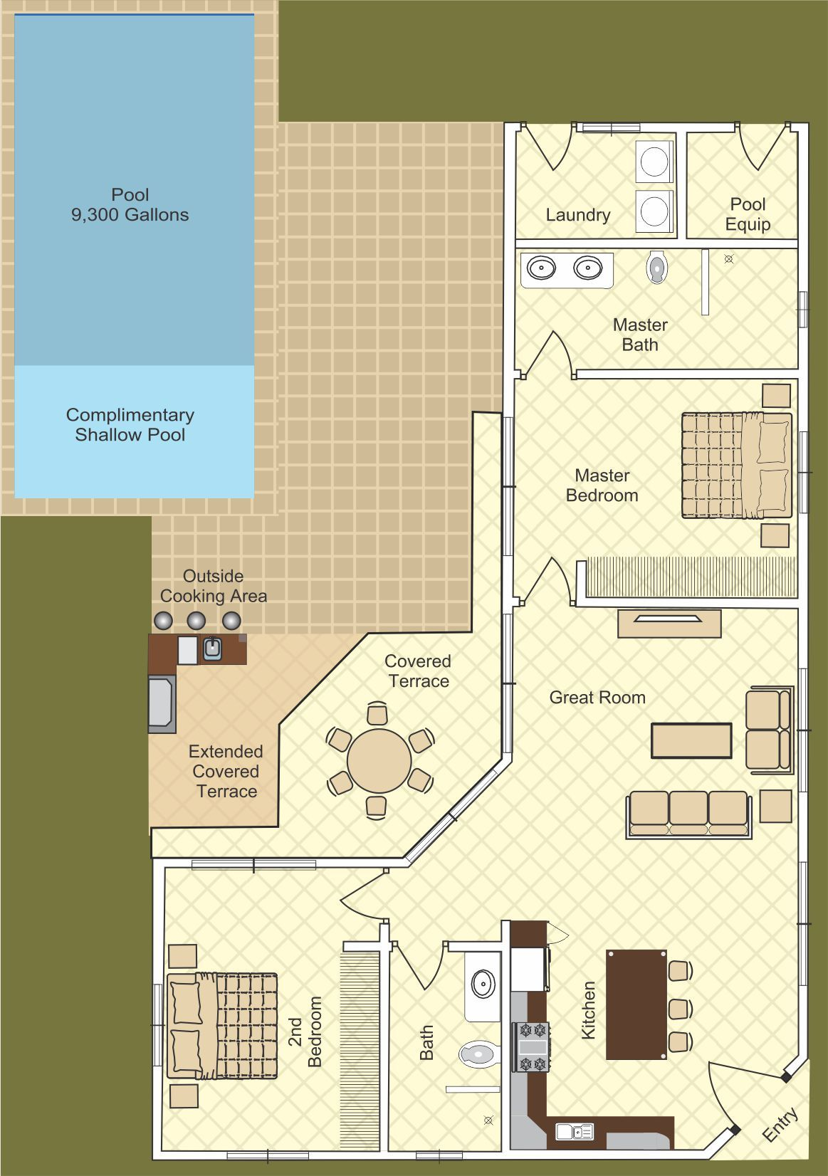 Pin On Home Floorplans 1 Story