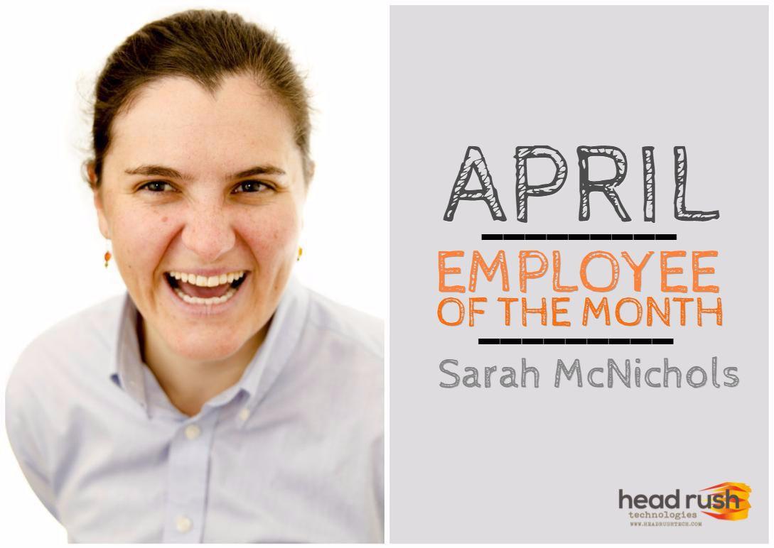Meet Sarah, our customer service rep! Tech, Adventure