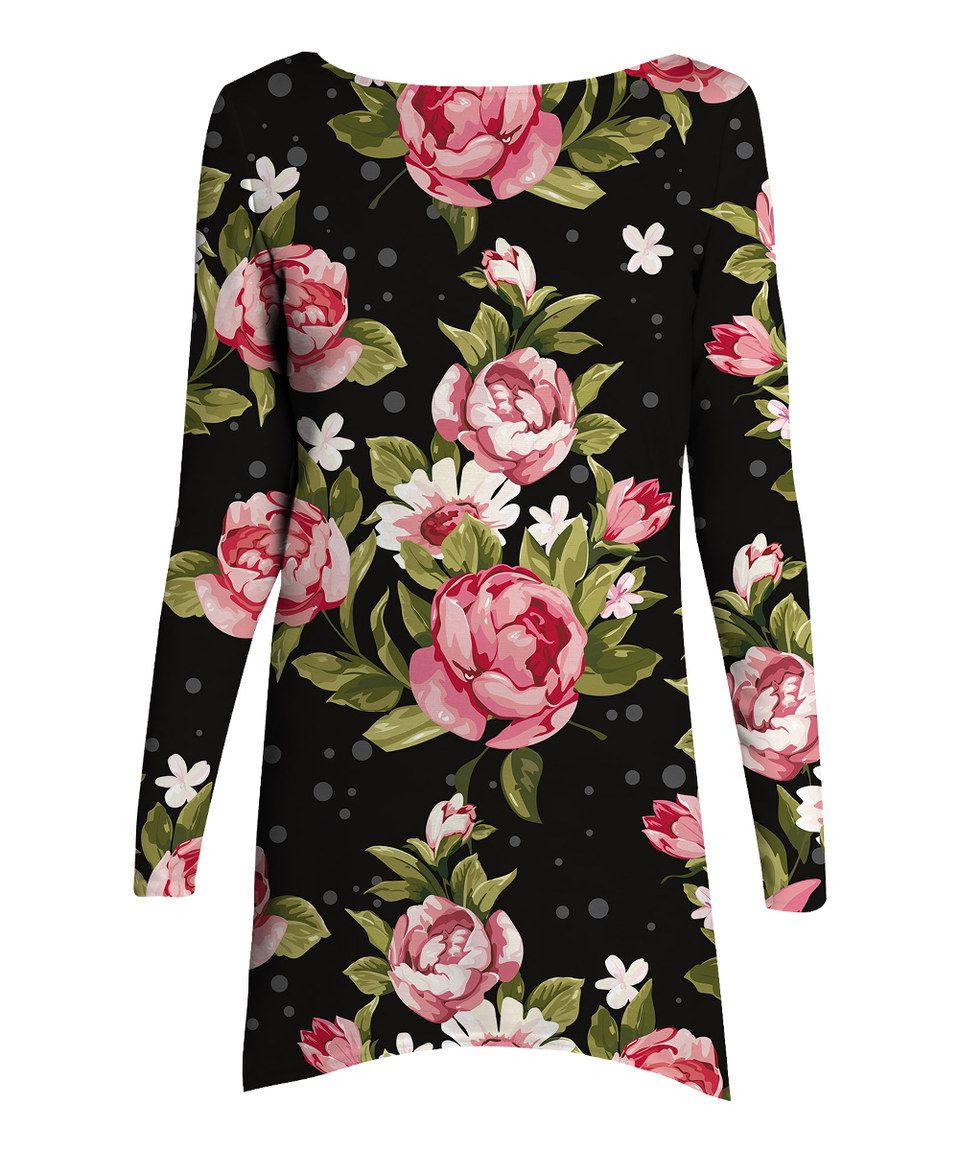 Another Great Find On Zulily Black Pink Roses A Line Dress Women By Mr Gugu Miss Go Zulilyfinds Black Pink A Line Dress Blackpink Rose [ 1152 x 959 Pixel ]
