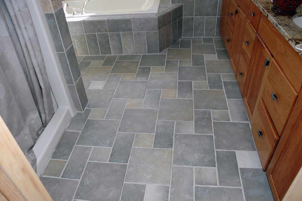 Entry way tile idea, love the pattern. | Home decor/design ...