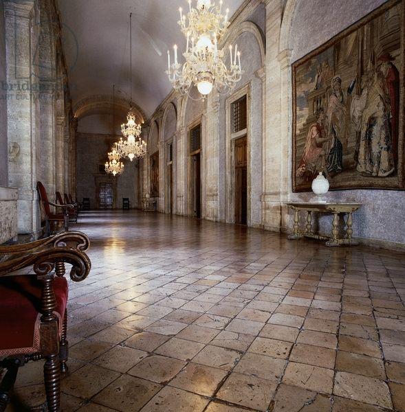 Detail From Corridor Overlooking Inner Courtyard, Palazzo