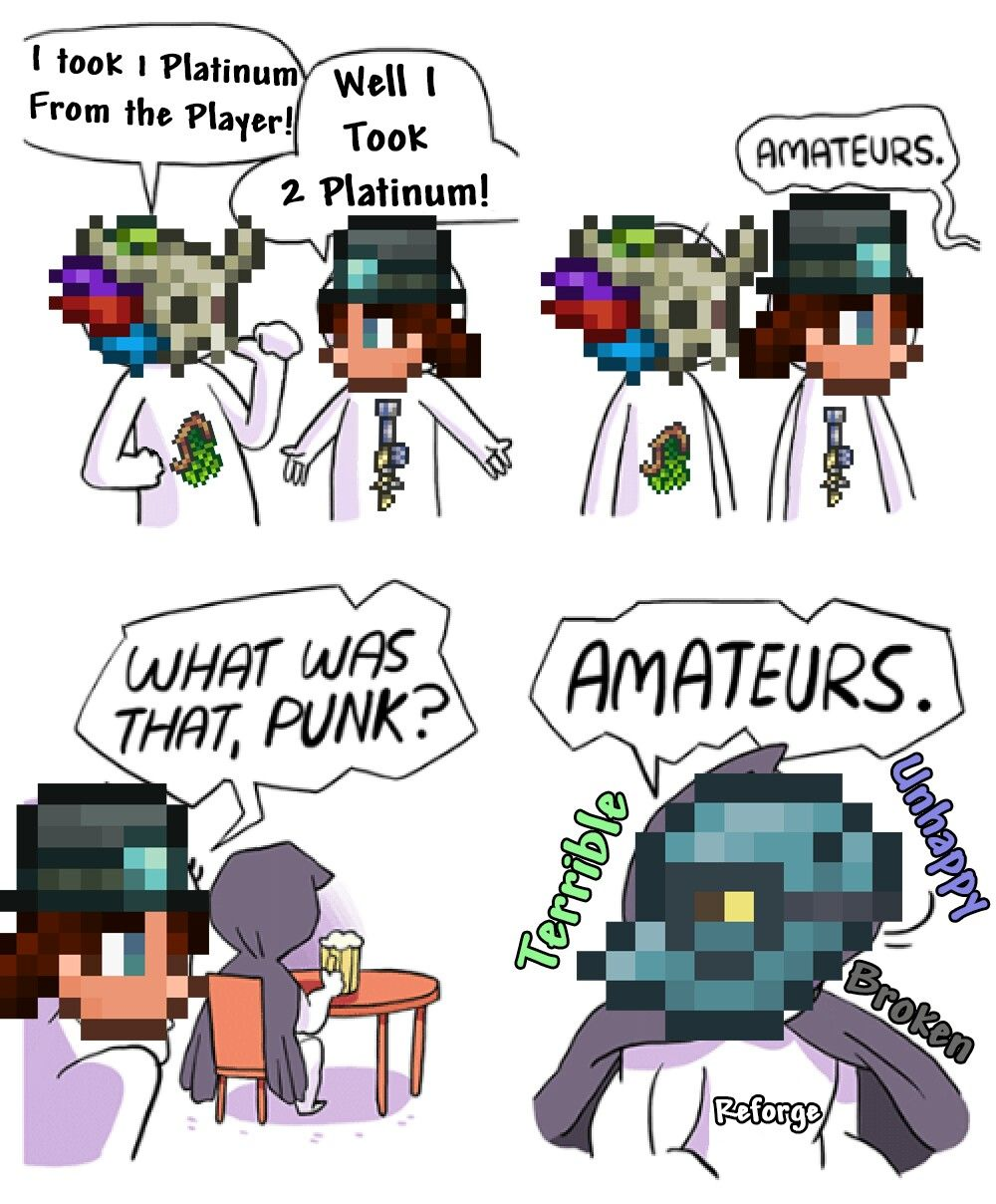 Pin By Fhjhxdfyh On Terraria Terraria Memes Funny Games Funny Memes
