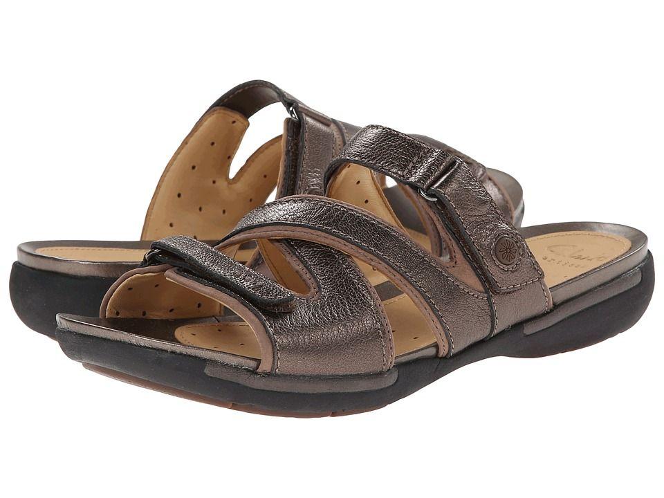 Womens Sandals Clarks Un Verlee Bronze Leather