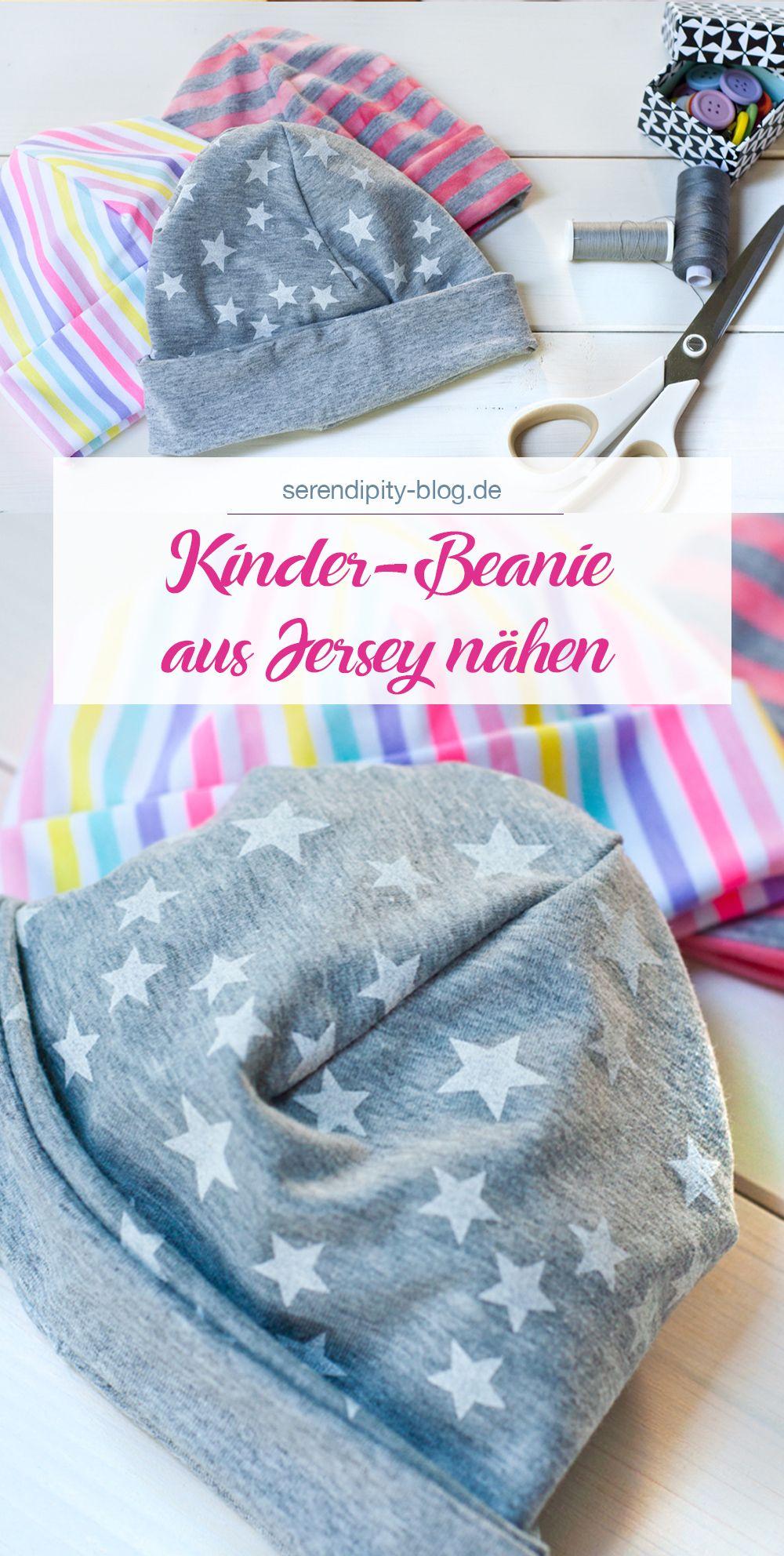Kinderbeanie aus Jersey für Kreativ für Kinder | Serendipity