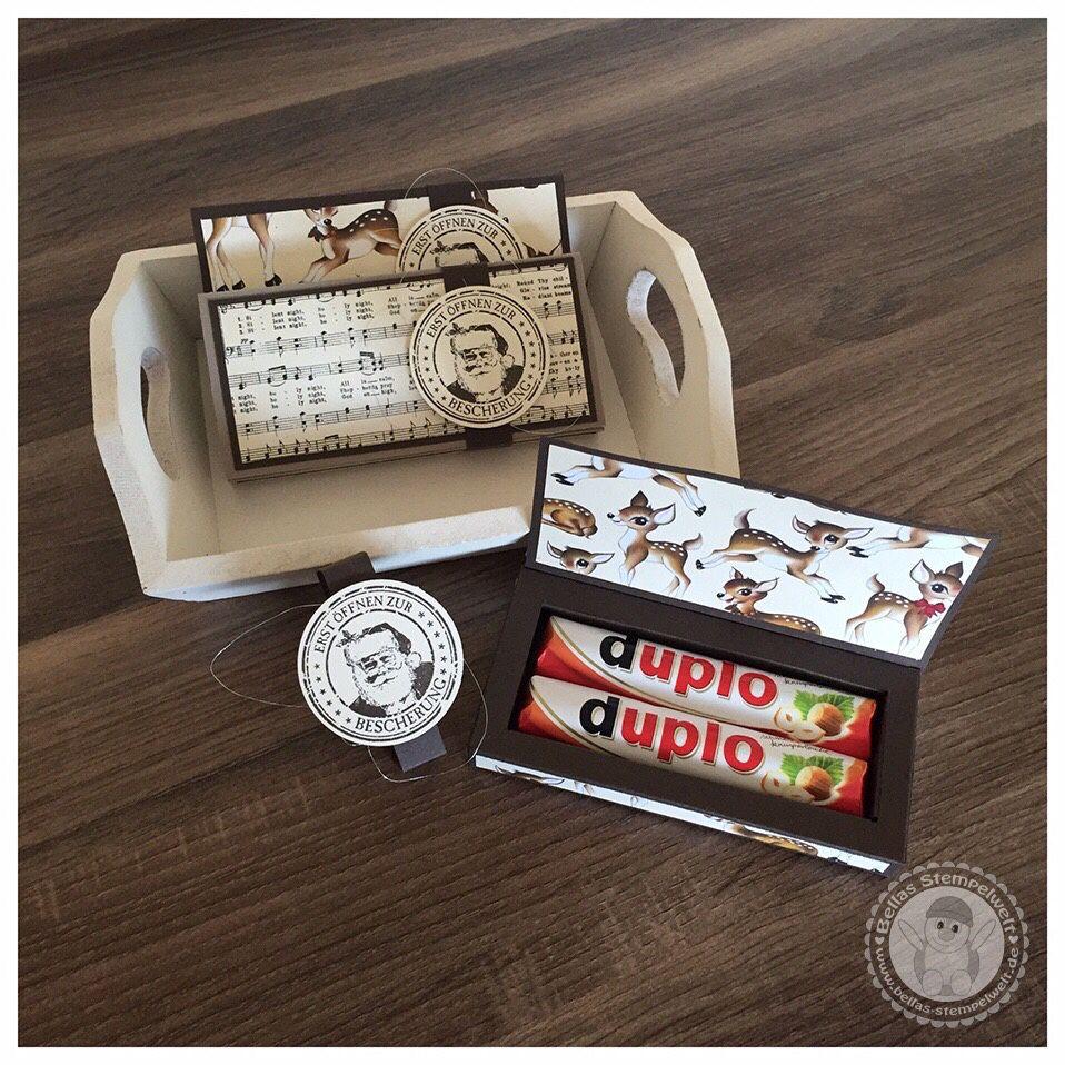 Stampin 39 up duplo verpackung bellas stempelwelt for Adventskalender duplo